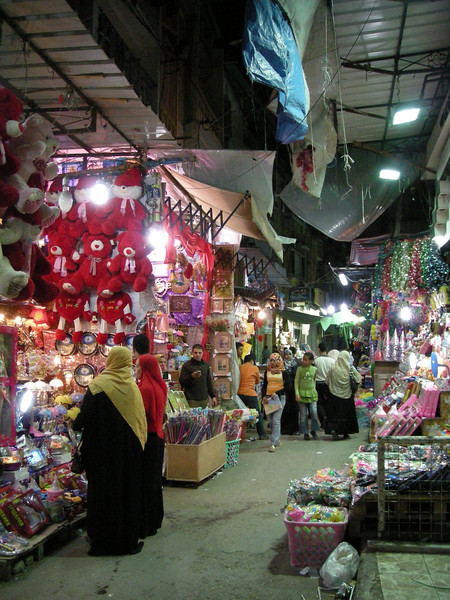 evening market, Alexandria, Egypt
