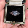 1.11ct Old European Cut Diamond Filigree Ring 10