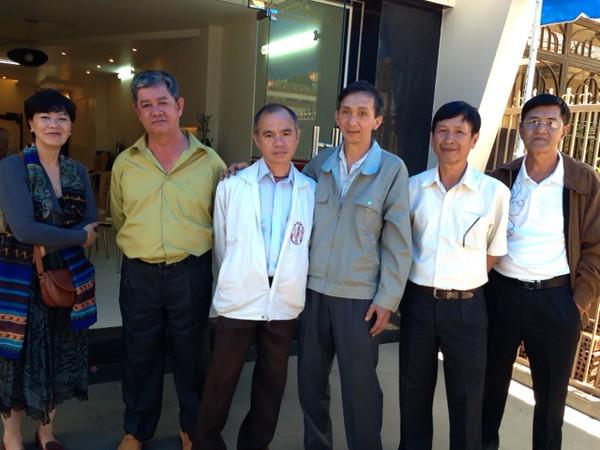 Nguyễn Thị Thành, Trần Kỷ Trung, Bùi Thanh, Nguyễn Văn Tý, Bùi Mạnh Hùng