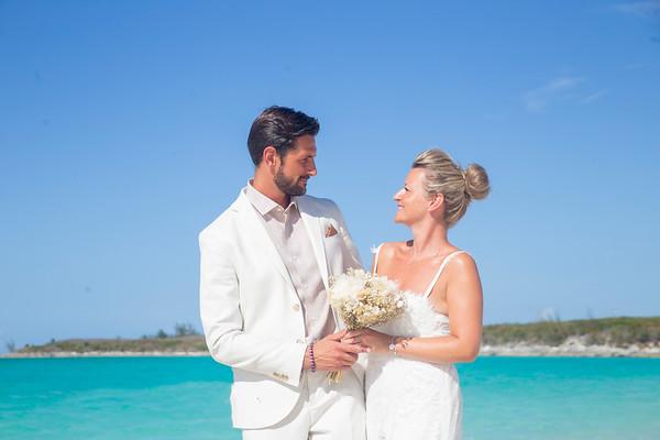 Ludovic & Astrid's Destination Wedding   Paradise Bay Resort   Exuma, Bahamas