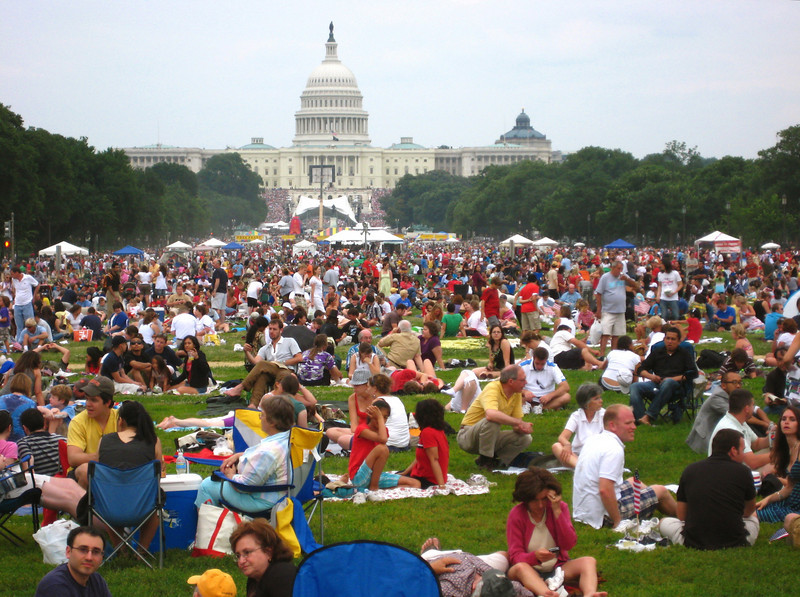 the 4th of july in dc