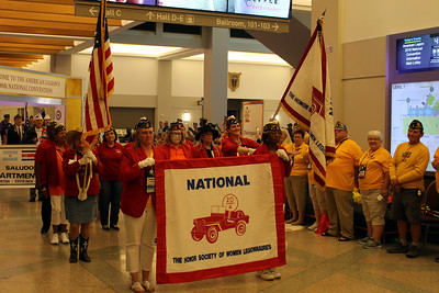 August - National Convention Parade