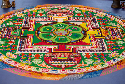 Tibetan Monks - Sand Mandala Dissolution