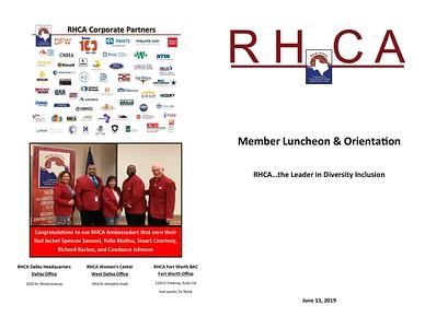 Membership Orientation 06 13 19