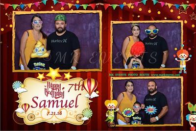 Samuel is 7