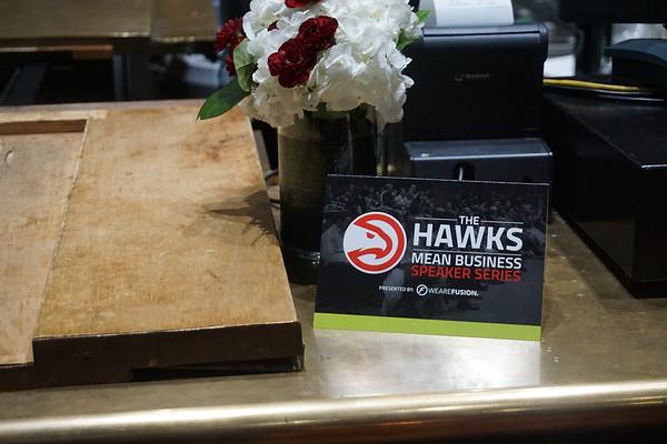 SURVIVORS REMORSE: THE HAWKS MEAN BUSINESS