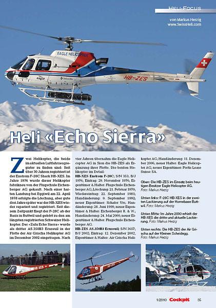 Cockpit – Heli-Focus No.1 2010