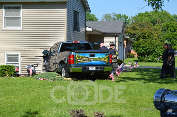 Vehicle Into House (5/29/14)
