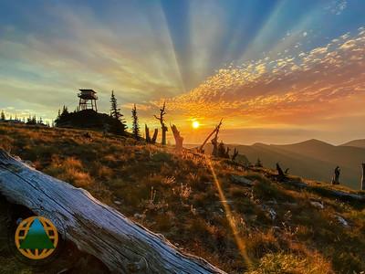 Sundance Lookout Preist Lake Idaho 2021