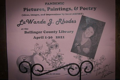 LaWanda J. Rhodes, Artist