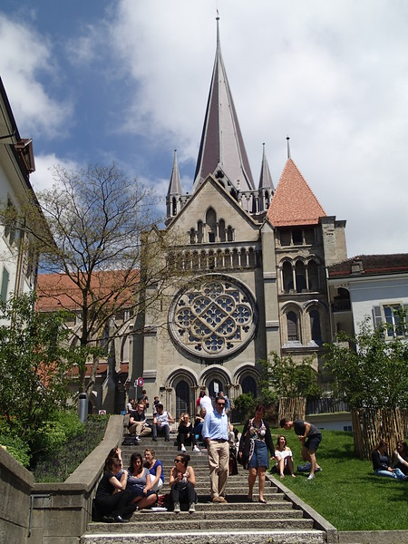 Lausanne, Switzerland: Lausanne Cathedral - June 2016