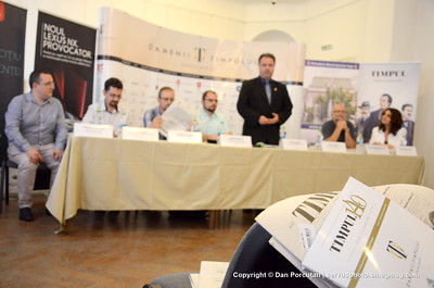 Press conference by Timpul magazine