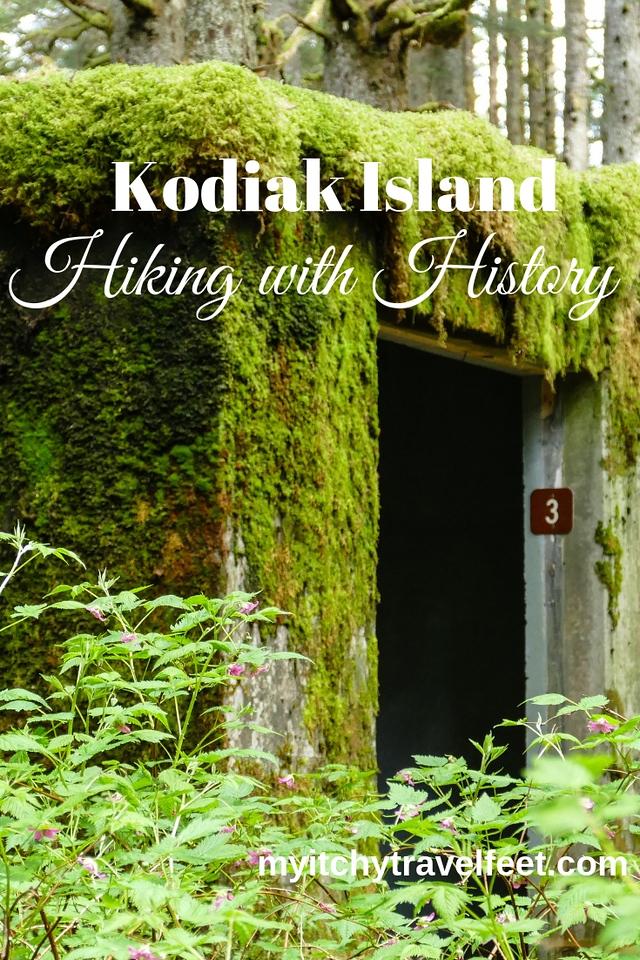 Hiking Kodiak Island Alaska on a cruise excursion.