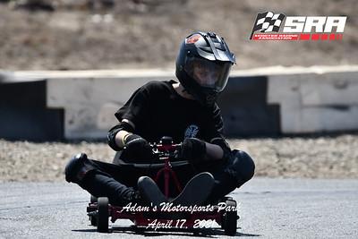 Scooter Racing Association (SRA) April 2021