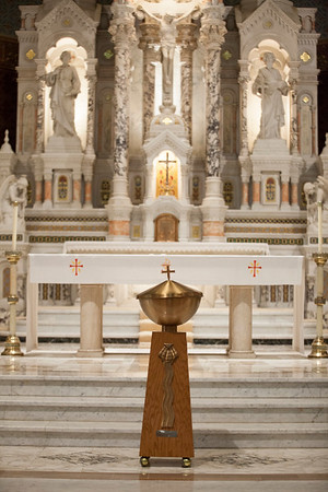 Dominic Aicardi baptism