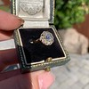 1.97ctw Antique Cluster Ring, GIA G SI2 9