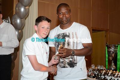 Wolverhampton Casuals Juniors Awards Night 2012-2013