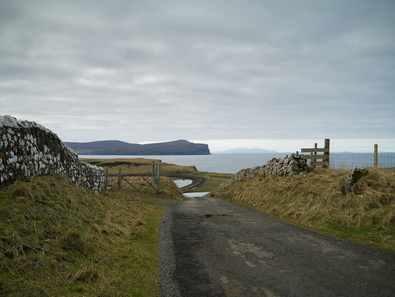 The small country roads on Skye