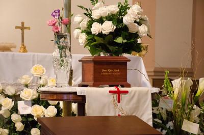 Jim's funeral 2016