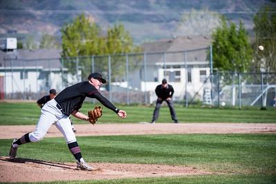 Fremont at Northridge Baseball 4-19-17