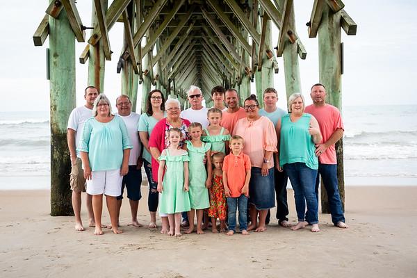 Beach Photos of Renee W Family