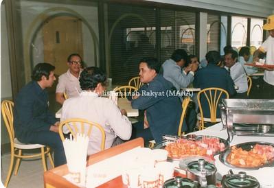 1986 - PERASMIAN SATE RIA OLEH PENGERUSI MARA