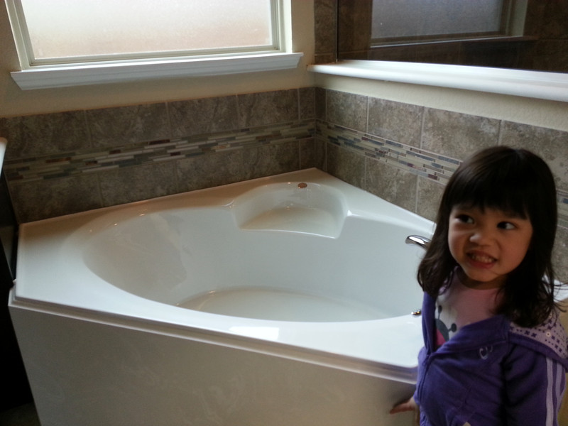 Master tub with a sincere smile...