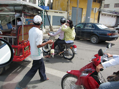 Van Ride to Poipet