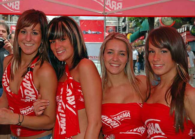 Montreal F1 Babes 2006-07
