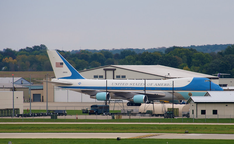 Air Force One in Madison