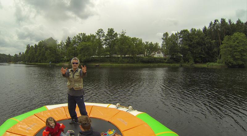 Hannes Schießl fängt Phantom auf Flugzeugträger im See