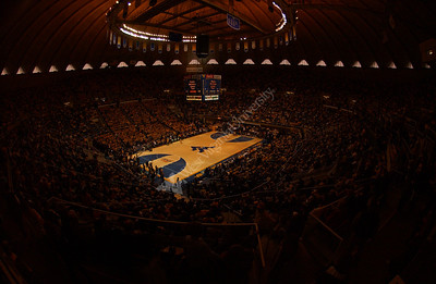 23998 WVU vs Connecticut basketball team coming out on floor
