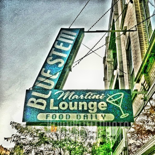 Blue Stem Martini Lounge  (closed)