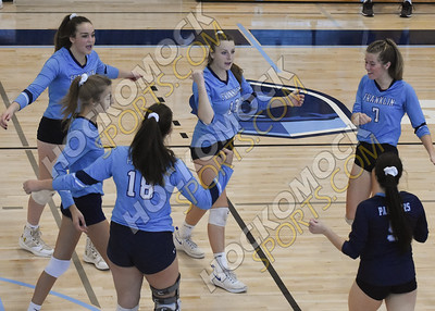 Franklin - Doherty Volleyball 11-2-19