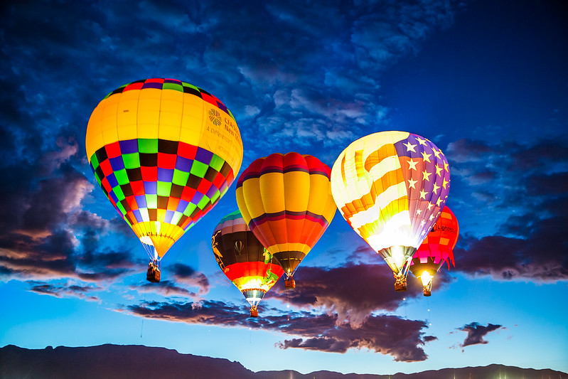 Dawn Patrol - Balloon Fiesta 2016