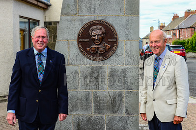 Jim Clark Plaque