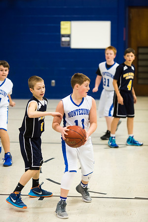 7th grade boys vs Montezuma 1-26-17