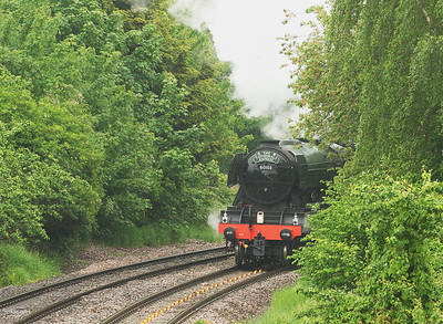 The Flying Scotsman. (Cathedral Express - 21/5/16)