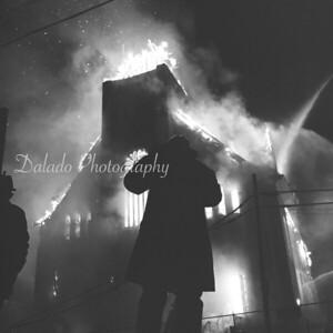New Arrivals: St. Edward Church Fire