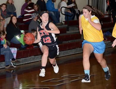 2016 LTS Varsity Girls Basketball Scrimmage photos by Gary Baker
