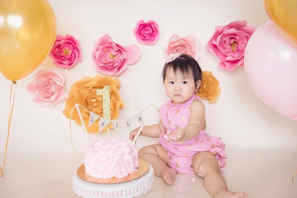 Leila {Cake Smash}