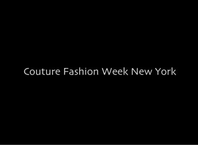 Couture Fashion Week Video