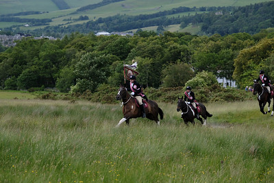 Peebles Beltane - Horses