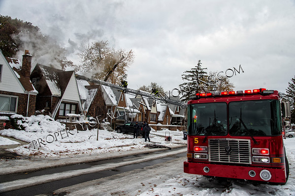 Detroit Woodingham and Puritan dwelling fire