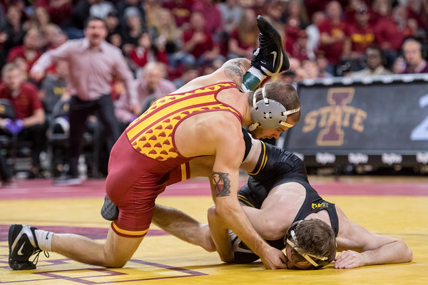 ISU Wrestling vs Iowa 11/24/19