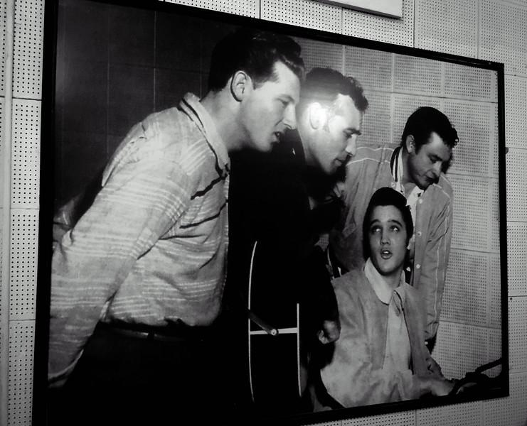 sun studio million dollar quartet