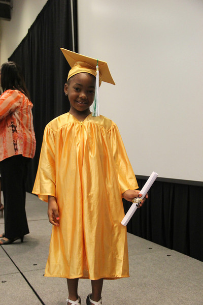 Elementary School Cap and Gown Pictures