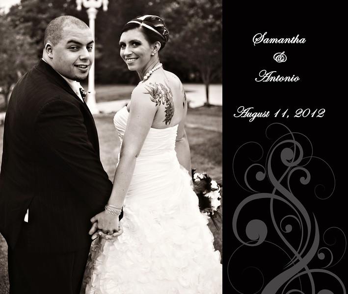 Sam & Antonio 13x11 Wedding Album