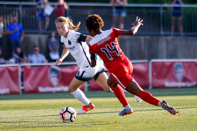 Washington Spirit v Portland Thorns (24 June 2017)