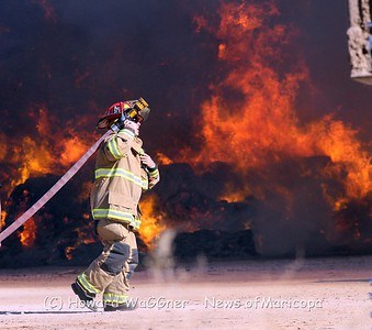 Hay fire 9-14-2012